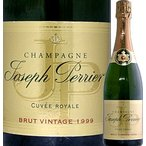 シャンパン・スパークリングワイン ジョセフ・ペリエ・シャンパーニュ・ブリュット・キュヴェ・ロワイヤル2002 フランス  750ml 辛口 wine sparkling