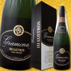 白スパークリングワイン グラモナ・トレス・ルストロス・カバ・ブリュット・ナチュール・グラン・レセルバ 2007