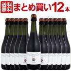 シャンパン・スパークリングワイン 送料無料 まとめ買い ガヴィオリ・ランブルスコ・グラスパロッサ・ディ・カステルヴェトロ・アマービレ 12本 wine
