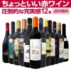 赤ワイン12本セット wine set 当店オススメばかりを厳選したちょっといい
