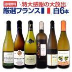 ワインセット 白セット 送料無料 第75弾 フランス白ワイン6本セット wine set