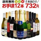 ワインセット 第53弾 1本あたり665円税別 赤ワイン、白ワイン、スパークリングワイン12本セット sparkling wine set