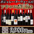 ショッピング赤 【送料無料】100セット限り!!ボジョレー・ヌーヴォー入り★フランス赤ワイン12本セット