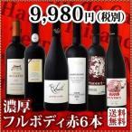 赤ワインセット 送料無料 濃厚好き必見大満足のフルボディ6本セット