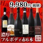 ワインセット 赤セット 送料無料 濃厚赤ワイン好き必見 フルボディ赤ワイン6本セット wine set