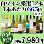1本あたり665円(税別) 採算度外視の大感謝 厳選白ワイン12本セット wine set
