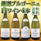 ショッピング白 ワインセット 白ワイン プルミェ・クリュ(一級畑)が2本 厳選ブルゴーニュ白ワイン4本セット bourgogne wine set