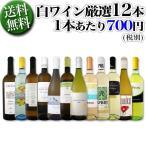 ワインセット 白ワイン 1本あたり700円税別 白ワイン12本セット wine set