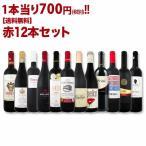 ワインセット 赤ワイン 1本あたり700円税別 赤ワイン12本セット wine set