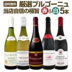 厳選ブルゴーニュワイン5本セット wine set bourgogne