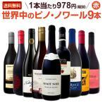 赤ワイン9本セット wine setピノ ノワール赤ワインだけをセレクト