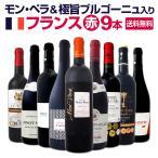 赤ワイン9本セット wine set モン ペラ 極旨ブルゴーニュ入り 厳選フランスbourgogne France