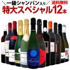 ワインセット スパークリング  赤 白 wine set 一級シャンパン モンペラ シャブリ入り 特大スペシャル 12本19,800円税別
