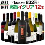 赤 白 スパーク オススメ激旨イタリアワイン12本セット wine set Italy