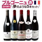 赤ワイン セット フランス 5本 750ml wine set France 厳選ブルゴーニュ bourgogne ピノ・ノワール