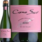 コノスル・ブリュット・ロゼ(ハーフ) チリ ロゼスパークリングワイン 375ml(ハーフ) 辛口