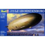 1/720 ツェッペリン飛行船 LZ129 ヒンデンブルグ号/レベル04802
