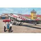 1/144 米・ダグラスDC-3ダコダ旅客機1930年代【ローデン014T309】