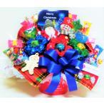 キャンディブーケ 卓上 なかよし クリスマス サンタ&スノーマン レッド   お菓子 詰め合わせ キャンディーブーケ