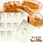 デュエリオ 10kg (1kg×10袋) 強力粉 デュラム粉 強力小麦粉 パン用小麦粉 生パスタ 1kg×10袋 / 送料無料 / デュラム小麦粉 100% 10キロ 【同梱不可】