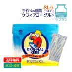 乳酸菌と酵母のケフィアヨーグルトの種菌 オリジナルケフィア 1袋(牛乳500ml用:16包入) 【DM便】