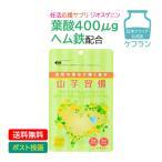 妊活応援サプリ ジオスゲニン(DHEA)&葉酸&乳酸菌たっぷり  『山芋習慣』 124錠入り (約1ヵ月分) 【DM便】