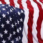 king's deal 国旗 デザイン 柄 毛布 ブランケット アメリカ イギリス 星条旗 ユニオンジャック 150×200cm (赤-US
