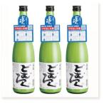 日本酒 どぶろく ギフト プレゼント  ポイント 渓流 どむろく 720ml  x 3本セット(活性にごり酒)