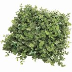 人工芝 ユーカリ 口35cm(フェイクグリーン 造花 インテリアグリーン おしゃれ 人工観葉植物)k-9618