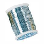 ワイヤー 糸針金♯28 シルバー 1巻46m 12巻セット 資材 花材 道具 手芸用品 フラワーアレンジメント リボンワーク ワイヤリング