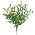 屋外対応 全長34cm ユーカリ ブッシュ 4本セット(フェイクグリーン 造花 インテリアグリーン おしゃれ 人工観葉植物)