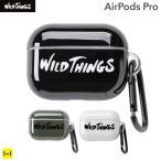 AirPods Pro専用WILD THINGS ワイルドシングス  カラビナ付きTPUケース Hamee