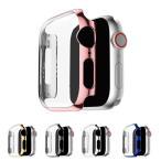 Apple Watch Series 5/4 ケース/カバー PC カバーケース/カバー 40mm用 メッキ 液晶カバー アップルウォッチ シリーズ4 クリアカバー ハードケース