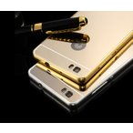 Huawei P8 Lite アルミ バンパーケース 背面パネル 背面カバー付き 上質でかっこいい メタル アセンド P8 Lit  p8lite-k-hj-k50622