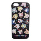 iPhone5 iPhone5s ケース/カバー アイフォン5 5s グルマンディーズ サンリオ ハローキティ×まんまるぐま×nicora シェル ジャケット SAN-207KTB