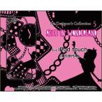 ショッピングipod iPod touch 5 ケース/カバー  液晶保護フィルム付  ALICE iN WONDERLAND(黒×ピンク)