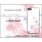 iPod touch 6 ケース/カバー Pastel Flower t