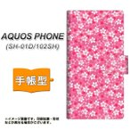 docomo AQUOS PHONE SH-01D 手帳型スマホケース 065 さくら