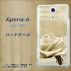Yahoo!スマホケース専門店 けーたい自慢エクスペリアA SO-04E カバー 1159 思い出のバラ(大) 素材クリア UV印刷  2013年夏モデル Xperia A