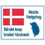 北欧スタイル織りタグ デンマーク HT-15 サンオリーブ 【KY】 タグ ワッペン