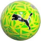 エヴォスピード 5.5 フラクチャー ボール J セーフティイエロー×グリーンゲッコ 【PUMA|プーマ】サッカーボール4号球082702-05-4