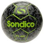 フレア フットボール ブラック×グリーン 【Sondico|ソンディコ】サッカーボール5号球822017-95-5