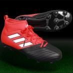 ジュニア エース 17.1 FG/AG J レッド×ランニングホワイト 【adidas|アディダス】サッカージュニアスパイクba9214
