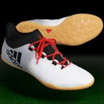 ショッピングフットサル シューズ エックス タンゴ 16.2 IN ランニングホワイト×コアブラック 【adidas|アディダス】フットサルシューズba9471