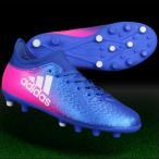 ジュニア エックス 16.3-ジャパン HG J ブルー×ランニングホワイト 【adidas|アディダス】サッカージュニアスパイクbb5705