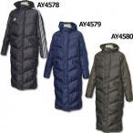 SHADOW ロングパデッドコート 【adidas|アディダス】サッカーフットサルウェアーbqk68