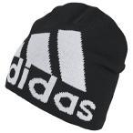 ビッグロゴクライマウォームビーニー ブラック 【adidas|アディダス】サッカーフットサルアクセサリーfxi46-dz8940