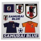 日本代表 スクラッチワッペン SAMURAI BLUE サッカー日本代表アクセサリーoo-570