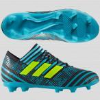ジュニア ネメシス 17.1 FG/AG J  レジェンドインクF17×ソーラーイエロー 【adidas|アディダス】サッカージュニアスパイクs824