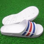 デュラモ SLD ホワイト×トゥルーブルー 【adidas|アディダス】サッカーフットサルサンダルu43664